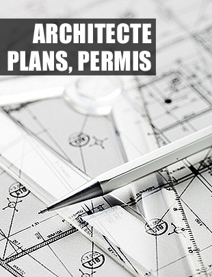 Architecte, plans, permis