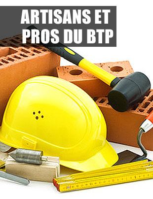 Artisans et Professionnel du BTP