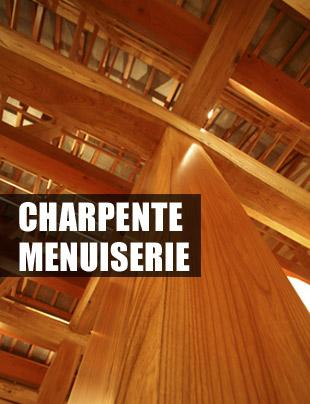 Charpente, menuiserie