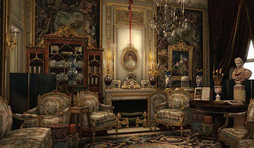 décoration traditionnelle française ou Belge