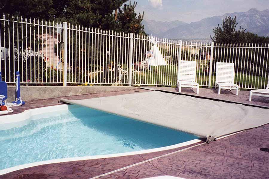 bâche d'hivernage pour piscine
