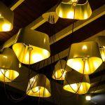 éclairage électrique plafonnié