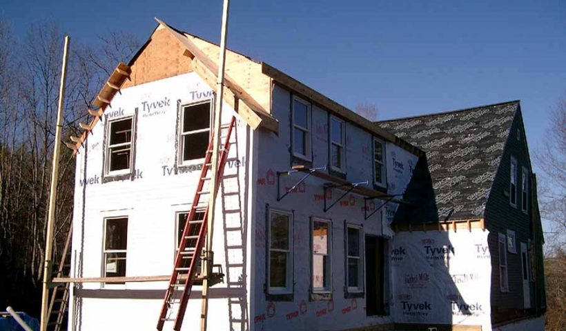 rénovation de la façade