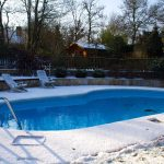 piscine à l'hivernage