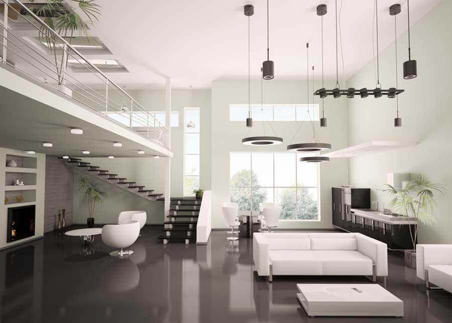 écoration intérieure contemporaine