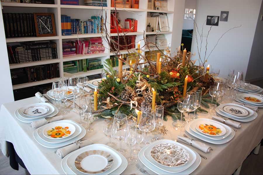table pour dîner